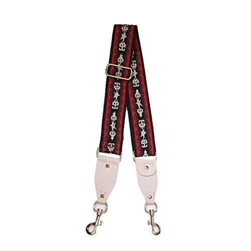Fashion Wide Canvas Replacment Shoulder Strap Bag Accessories for Women Bag Belt Adjustable Handbag Straps Bag Handles Wholesale Pattern 26