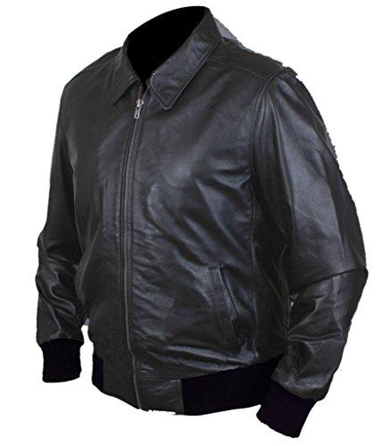 F&H Men's Happy Days Fonzie Jacket Black