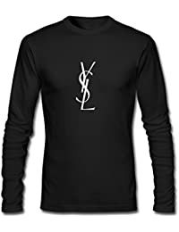 YSL Yves Saint Laurent Printed For Mens Long Sleeves Outlet