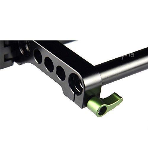 Lanparte swc-01 Schaukel Klemme 15mm Stange mit Schloss Knopf verstärkte Scharnier für Kamera -