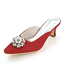 L@YC Women'S High Heels Spring / Summer / autumn / Silk Wedding / Party Evening & Cool Slippers