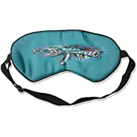 Eye Mask Eyeshade Colorful AK47 Sleeping Mask Blindfold Eyepatch Adjustable Head Strap preisvergleich bei billige-tabletten.eu