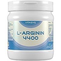 Preisvergleich für L-Arginin 4400 - 260 L-Arginin Kapseln hochdosiert mit 4400mg L-Arginin HCL pro Tagesdosis