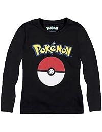 Pokémon Niños Camiseta mangas largas 2016 Collection - Negro