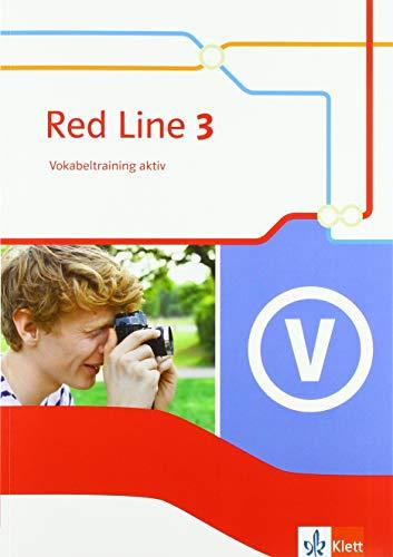Red Line 3: Vokabeltraining aktiv Klasse 7 (Red Line. Ausgabe ab 2014)