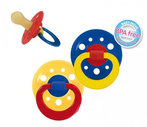 6 X 2er Pack Baby Nova Beruhigungssauger Runde Kirschform Schnuller