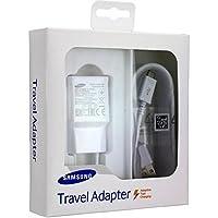 Alimentatore Caricatore Caricabatteria Samsung Originale Fast Charger Carica Veloce Micro USB Galaxy S6 S7 Edge EP-TA20EWE 2A 10W Bianco ETA-U90EWE Travel Caricabatterie