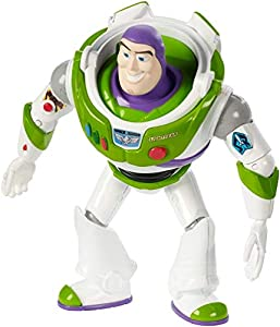 Mattel- Disney Toy Story 4-Figura básica Buzz Lightyear, Juguetes niños +3 años GGX33, Multicolor