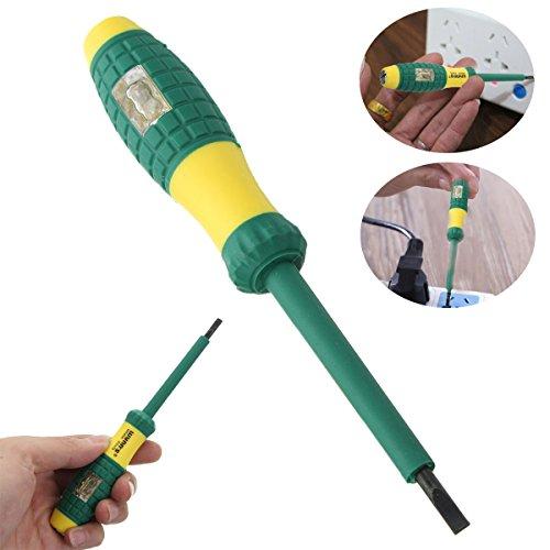 DyNamic 220 V Elektrische Tester Stift Schraubendreher Spannung Test Power Detector Sonde