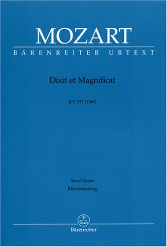 Dixit et Magnificat KV 193 (186g) --- Ch...