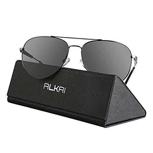 ALKAI Sonnenbrille klassische Sunglass für Herren/Damen/Jungen