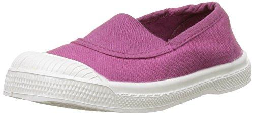 Bensimon Tennis Elastique, Baskets Basses Mixte Enfant Violet (Rouge Hortensia)
