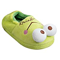 Womens Indoor Slippers Soft Bottom Autumn Winter Memory Foam Wood Floor Couple Cotton Warm Non-Slip Frog Slippers