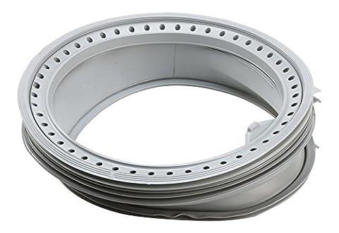 DREHFLEX® - Türmanschette / Türdichtung / Dichtung passend für diverse AEG / Electrolux Waschmaschine auch diverse Waschvollautomaten von Privileg / Quelle - passend für Teile-Nr. 379020140-8 / 3790201408 - möglicher Aufdruck 132001190 / 13200419