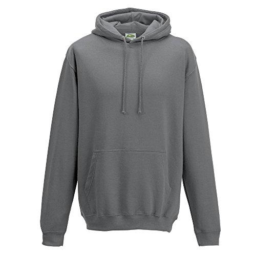 Just Hoods College - Felpa grigio acciaio