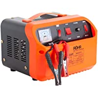 Röhr Car Battery Charger 45 Amp 12V / 24V DFC-50P Intelligent Turbo/Trickle with Battery Repair, Maintain and Jump Start Technology
