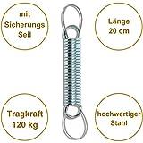 Aufhängung Befestigung mit Feder für Hängesessel von HOBEA-Germany - 2