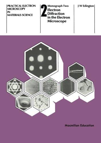 Electron Diffraction in the Electron Microscope (Philips technical library) por J.W. Edington