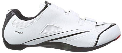 Shimano E-SHR088L Unisex-Erwachsene Radsportschuhe - Rennrad Weiß (White)