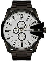 Reloj hombre Louis Villiers en acero blanco 50 mm lvag8912 – 4