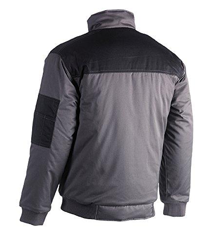 HEROCK® Workwear - HEROCK® Veste TYPHON GREY_BLACK
