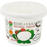 San Salvatore D.O.P. Organic Buffalo Mozzarella Campana Cheese, 125 g