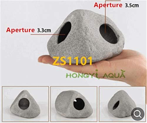 Tontopf für Aquarien, Garnelen, Cixi, Ausweichtanks für Zuchtfische, Nest-Form, für Aquarien, Zs1101, Clay pot