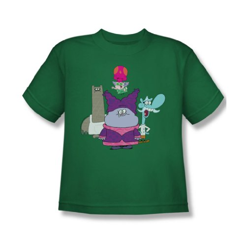 Chowder - Jugend-Gruppen-T-Shirt, X-Large, Kelly Green