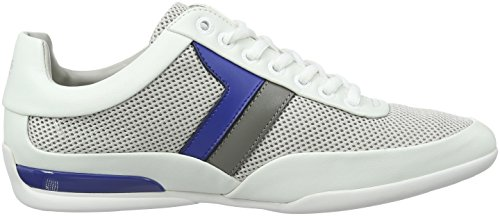Boss Green Space, Sneakers Basses Homme Blanc (Open White)
