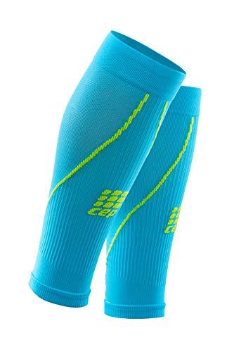 CEP - Calf Sleeve 2.0 | Beinstulpen für Herren in hellblau/grün | Größe IV | Beinlinge für exakte Wadenkompression