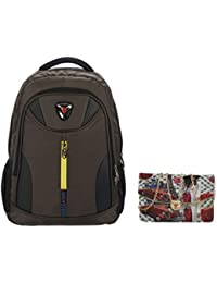 IRISH Combo Of Multicolor School, College Backpack With Sling Bag
