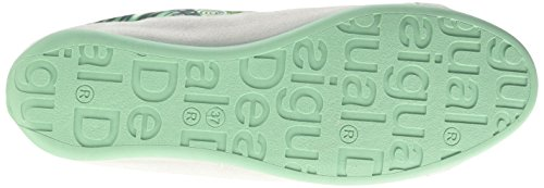 Desigual Damen Shoes_happy Sneakers Türkis (5024 TURQUESA PALO)
