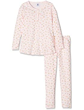 Petit Bateau Mädchen Zweiteiliger Schlafanzug Pyjama Vie/Mu 2537428