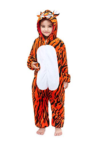 Lion Pyjama Kostüm - Re-Miss Kinder Tier Onesie Einhorn Tiger