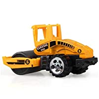 Construction Excavator Car Toys Push And Go Car Vehicles Toys For Kids 1 Piece(Street Roller)