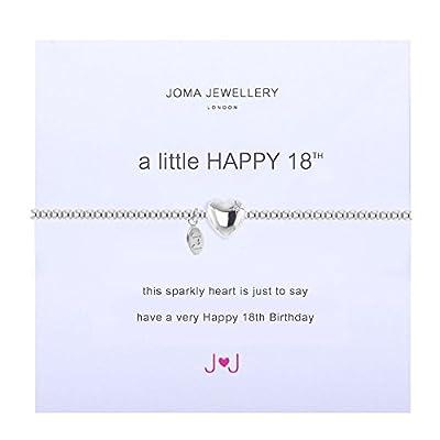 Joma Jewellery - A Little Happy 18th - Silver Bracelet