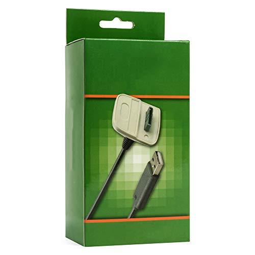 Cavo Dati Ricevitore 360,Wireless Controller Ricarica USB Cable Carica per Microsoft Xbox 360 Periferiche di Gioco/Xbox 360 Slim Wireless