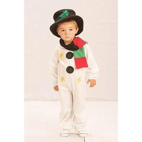 Disfraz de Muñeco de Nieve para Niños - Navidad - 104 cms