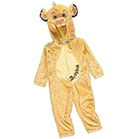 88975976d George Disney Lion King Simba Hooded Fancy Dress Outfit Costume World Book  Day