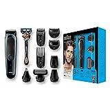 Braun 9-in-1 Multi-Grooming-Kit MGK5080, Barttrimmer und Haarschneider, Körperhaartrimmer, Ohr- und...
