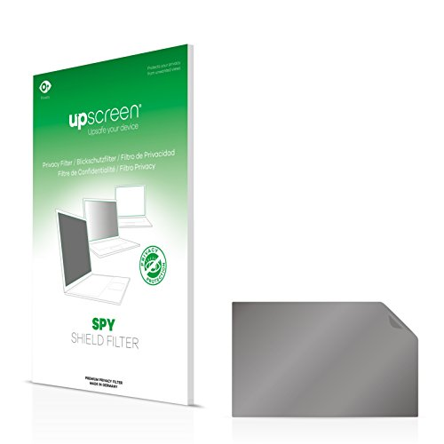 upscreen Spy Shield Filter Privacy Filter Hanns.G HZ281 - Privacy Protection, Scratch-proof, Anti-Glare Protection, Made in Germany