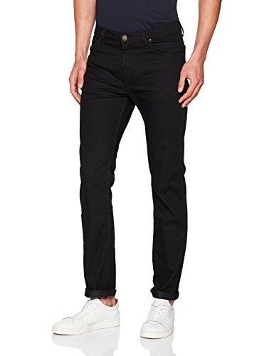 Lee Herren Rider' Slim Jeans, Schwarz (Black Rinse YC47), W29/L34 -