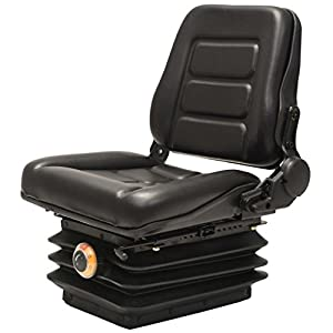 vidaXL Gabelstaplersitz mit Federung Traktorsitz Schleppersitz Staplersitz