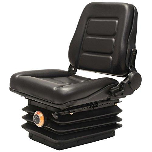 Preisvergleich Produktbild vidaXL Gabelstaplersitz mit Federung Traktorsitz Schleppersitz Staplersitz