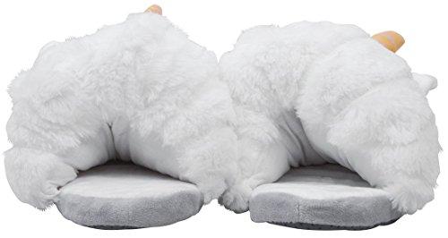 J&L , Damen Hausschuhe 36-41 Weiß