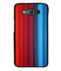 printtech Colored pattern streak Back Case Cover for Samsung Galaxy On5 Pro