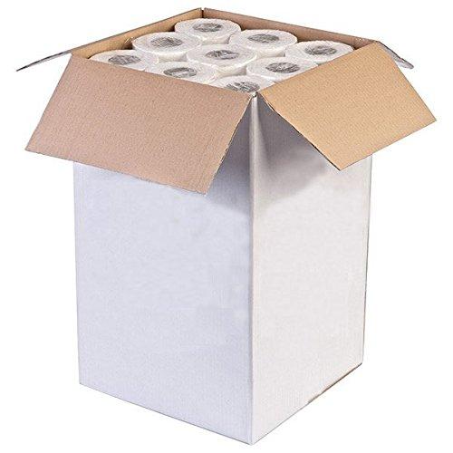 Beauties Factory CR0940EW Papierrollen zum Abdecken von Liegen zu Hygiene- und medizinischen Zwecken, zweilagig, 0,5 x 40 m, 9 Stück