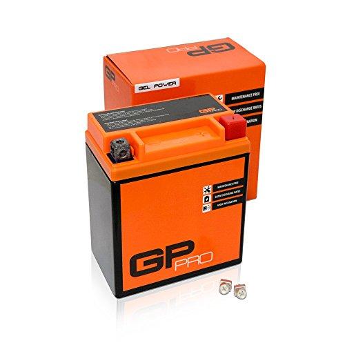 Batterie 12V 6Ah Gel GP-Pro (TYP - GTX7L-BS / ähnlich YTX7L-BS) (versiegelt / wartungsfrei)