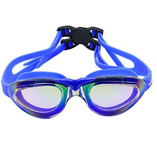 Floridivy BOIHON Schwimmbrille Männer Frauen High Definition wasserdichte Anti-Fog-Brille Große Rahmen Gläser Brillen