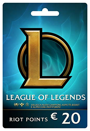 League of Legends €20 Buono regalo prepagato (2800 Riot Points)